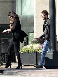January 24: Selena and Zedd leaving a restaurant in Atlanta, Georgia