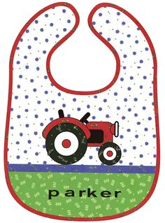 A pattern free for a bib from moda