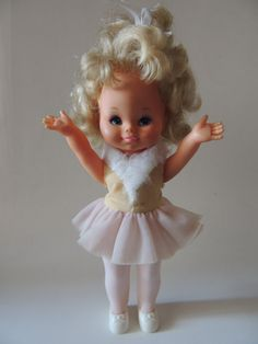 Boneca Antiga - Bailarina Da Estrela - Dança De Verdade - R$ 149,99 no MercadoLivre