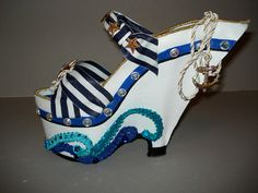 Wish this were wearable.. https://www.etsy.com/listing/125109764/shoe-sculpture-boat-shoe