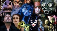all her favorites...Beetlejuice, Alice in Wonderland, The Nightmare Before Christmas, Edward Scissorhands and Corpse Bride