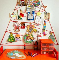 arbol-navidad-pared