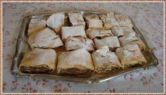 Strudel made out from the apples