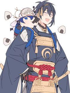 Touken Ranbu Mikazuki, Fan Anime, Bishounen, Fujoshi, Sword, Animation, Manga, Fictional Characters, Yukata