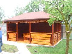 Foisor lemn masiv Home Fashion, Cabin, House Styles, Home Decor, Decoration Home, Room Decor, Cabins, Cottage, Home Interior Design