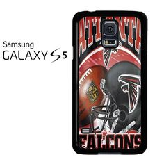 Atlanta Falcons Logo Helmet Samsung Galaxy S5 Case
