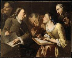 Gaspare TRAVERSI (1722-1770), La Séance de portrait, around 1750 | Dijon, musée Magnin