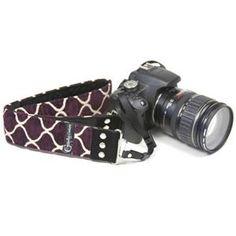 "Plaza Purple 2"" DSLR Camera strap"