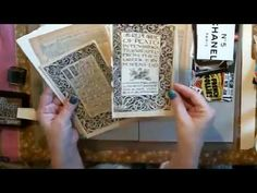 Another Sewn Envelope Tutorial (with dangling charms) - YouTube