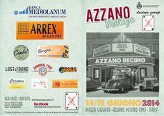 Depliant Azzano Vintage 2014 https://www.facebook.com/azzanovintage?fref=ts