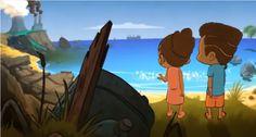 Babou et Zaza protège la terre. Belle vidéo à écouter avec les élèves pour souligner le jour de la Terre!