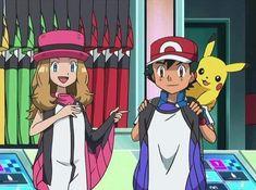 Pokemon Kalos, Ash Pokemon, Pokemon Ships, Pokemon Fan, Pokemon Ash And Serena, Ashes Love, Best Couple, Anime Couples, Kawaii