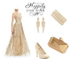 Bridemade outfit by ioana-isachi on Polyvore featuring Theia, Versace 19•69, Armitage Avenue, Charlotte Russe and Stephen Webster