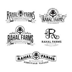 Rahal Farms branding concepts