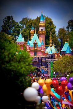 adisneyfairytale:  Sleeping Beauty Castle by Matt Pasant on Flickr.