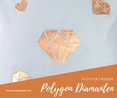 Plotter Freebie Polygon Diamanten
