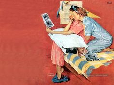 Norman Rockwell Paintings Gallery in Chronological Order Norman Rockwell Prints, Norman Rockwell Paintings, Best Painting Ever, Peintures Norman Rockwell, Retro Caravan, Saturday Evening Post, Painting Gallery, Art Database, Vintage Artwork