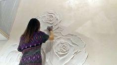БАРЕЛЬЕФ-идея для интерьера! speed painting wall art!