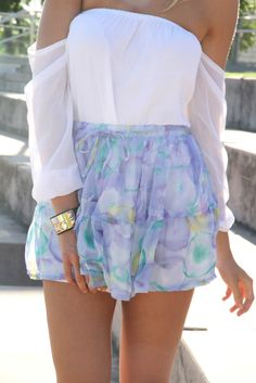 breezy & beautiful #saboskirt