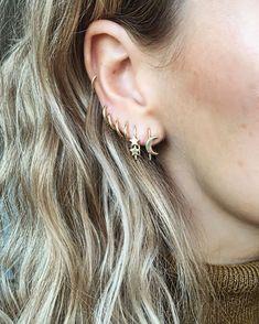 nice Bijoux - Tendance 2017/2018  : Double star & Lunar earring...