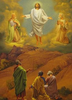 Luminous Mystery – The Transfiguration Jesus Christ Painting, Jesus Art, Transfiguration Of Jesus, Rosary Mysteries, Praying The Rosary, Holy Rosary, Jesus Christ Images, Christian Artwork, Life Of Christ