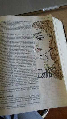 Queen Esther, bible journaling