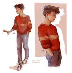 Just Harry :) by Natello's Art. Pinned by @lilyriverside
