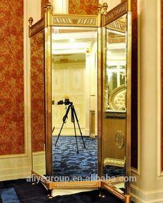 AAS218-fancy Design Divider Furniture Folding Floor Screen For Hotel Lobby