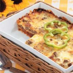 Barbecue Lasagna