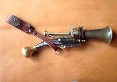 Steampunk Gun Steampunk Weapon Stage Prop Gun Tragon Lazer/Ray Accumulator Weapon