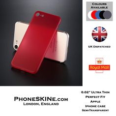 Apple iPhone Case, PhoneSKINe Ultra-Thin Case perfect fit, Simple Stylish Fully Protective Matt Cover for Apple iPhone 6, 6s, 7, 7s, 6 Plus, 6s Plus, 7 Plus, 7s Plus. #iPhoneCase #PhoneSKINe Visit PhoneSKINe.com