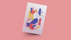 """다음 @Behance 프로젝트 확인: """"Holidays Card"""" https://www.behance.net/gallery/32840667/Holidays-Card"""
