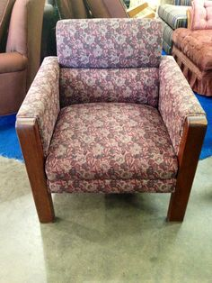 A neat chair at the ReStore!