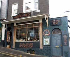 The Sanctuary Secondhand Bookshop. Lyme Regis B & B. Bed & Breakfast for Book Lovers. Beryl Cook Cards & Rarities, Ollie...