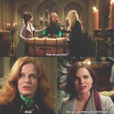 """- once upon a time  (@onceuponatime.xo) on Instagram: """"[6x18] """"but you've never looked stronger"""" aw i loved this scene❤️ #ouat #onceuponatime"""""""