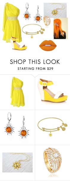 """sun set"" by lulu-dusk ❤ liked on Polyvore featuring Bling Jewelry and Lime Crime"