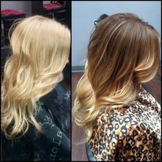 Ombre hair - I wish my hair was long enough to do this!!