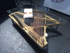 Hey, I found this really awesome Etsy listing at https://www.etsy.com/listing/187637515/piano-table-w-glass-top