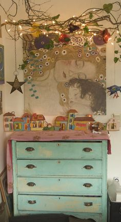 eclectic.. Iv always loved this picture Iv seen it at Ikea many times and just LOVE it! Would be perfect for a nursery.