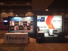 Dominion Dealer Services (booth number 406), ELEAD1ONE (booth number 408)