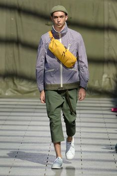 Junya Watanabe Spring 2019 Menswear Paris Collection - Vogue