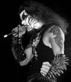 > Ravn (Olav Bergene) < / Norway  (1349) Black Metal, Musician Photography, Inspirational Music, Rock Concert, Band Photos, Metalhead, Death Metal, Metal Bands, Furry Art