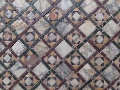 Decorative painter: For the love of Venice and the love of marble mosaic floor design