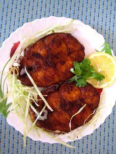 Deep fried Seer fish