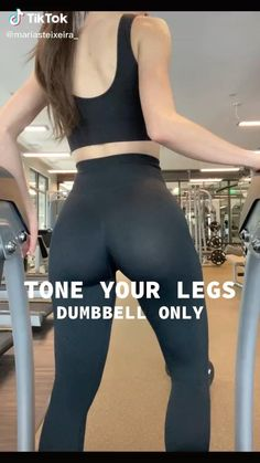Leg And Glute Workout, Full Body Gym Workout, Gym Workout Videos, Gym Workout For Beginners, Fitness Workout For Women, Sport Fitness, Gym Workouts, At Home Workouts, Everyday Workout