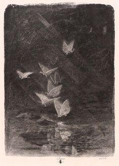 Night Moths by William Baxter Closson / American Art
