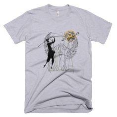 Golf Tournament Vintage Design Unisex Tee Mens or Womens Short sleeve t-shirt
