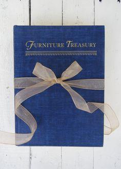 Antique Furniture Book/Vintage Blue Book/Interior Design Book by Swede13 www.swede13.etsy.com
