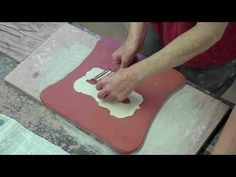 Rene Murray's Slab Inlay Technique - YouTube