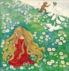 "Felicitas Kuhn – ""The Goose Girl"""